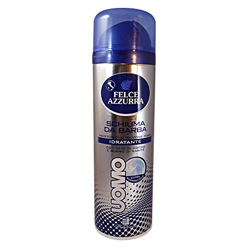 Felce Azzurra Moisturizing Hydrating Shaving Foam 300ml 10.1oz -