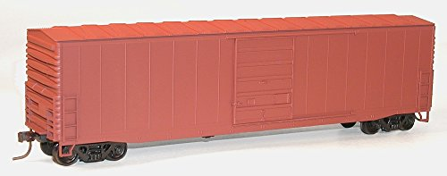 (Accurail Model Trains Ho 50' Steel Boxcars with 8' Superior Doors Undecorated)
