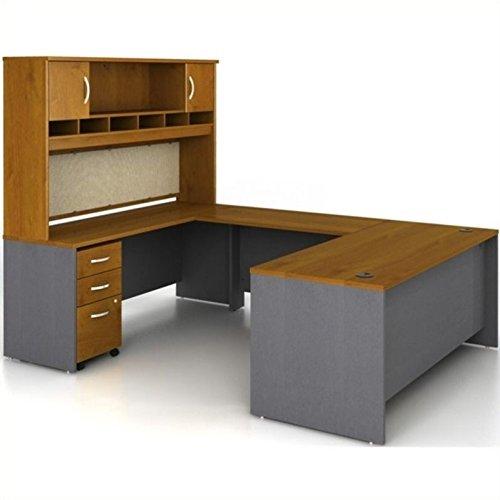 Bush Business Series C 5-Piece U-Shape Executive Desk