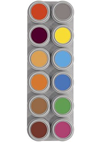 Grimas Water Face Paint 12 Palette B