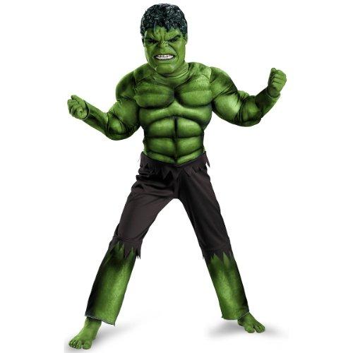 Boys Avengers Classic Muscle Costume