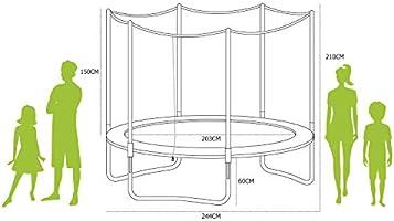 Alices Garden - Cama Elastica, Trampolin