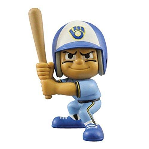 MLB Milwaukee Brewers Lil' Teammates Throwback Batter Figurine