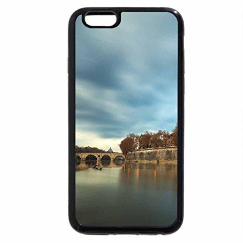 iPhone 6S Plus Case, iPhone 6 Plus Case (Black & White) - Rome
