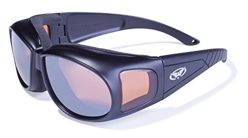 Safety Outfitter Anti-Fog Safety Glasses With Driving Mirror - Outfitters Sunglass