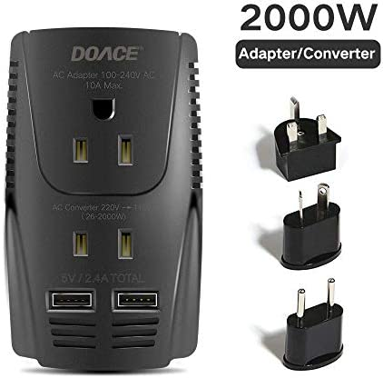 DOACE Voltage Converter Straightener Countries product image