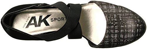 Anne Klein Ak Sport Kvinna Teaberry Tyg Pump Svart / Vit / Multi Tyg
