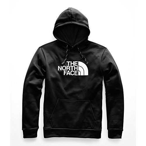 The North Face Men's Surgent Pullover Half Dome Hoodie - TNF Black & TNF White - XXL (Xxl Face Hoodie North)