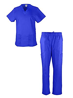 Liberty Scrubs Women's Scrub Sets / Medical Scrubs (Crossover V-Neck with Tie Back)/Nurses Uniform Set
