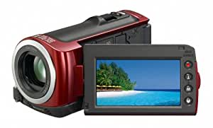 Sony HDR-CX100 ACVHDHD Camcorder with Smile Shutter & 10x Optical Zoom (Red) (Discontinued by Manufacturer)