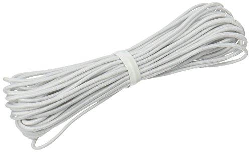 Dritz Elastic Cord (Dritz 9340W Beading Cord Elastic, White, 1/16-Inch)