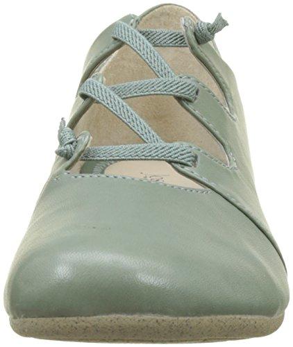 Josef Seibel Women's Fiona 04 Closed Toe Ballet Flats Green (Mint 610) low shipping cheap online ktouv