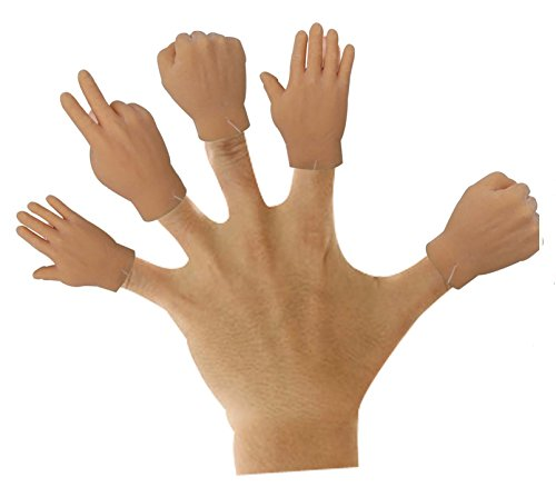 photo Wallpaper of THE GAG-The Gags Finger Hands Rock Paper Scissors Game Set Of 6 Hands-