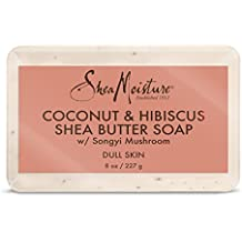 Shea Moisture Organic coconut & hibiscus shea butter soap by shea moisture for unisex soap, 3.5 Ounce