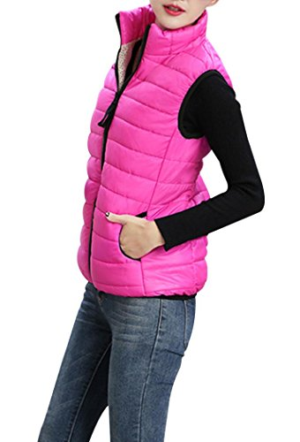 Anmengte+Women+Spring+Warm+Lightweight+Down+Vest+Jacket+Coat+Zipper+Outwear+Plus+Size+%28FBA%29+%28M%2C+RosePink%29