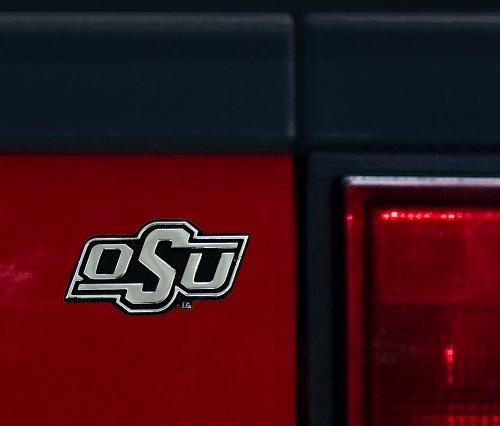 Ncaa Chrome Auto Emblem - Stockdale NCAA Oklahoma State Cowboys Chrome Auto Emblem