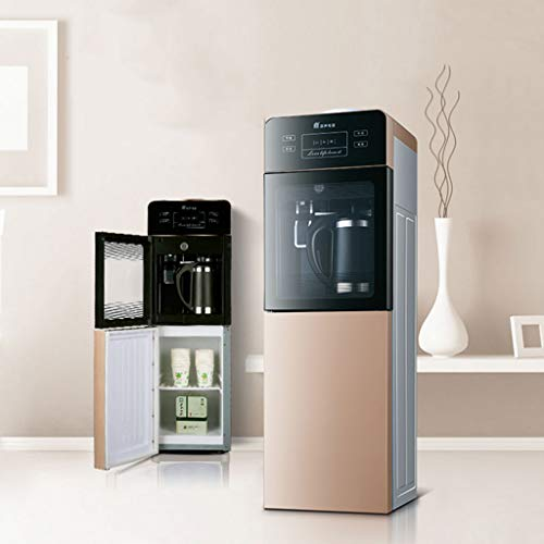 Hot Water Dispensers Household vertical hot water dispenser Bedroom cooling hot water dispenser Household quick-heat hot water dispenser Hot and cold energy-saving heater Office refrigeration water di by Combination Water Boilers Warmers (Image #1)