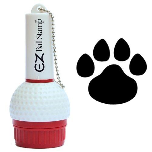 (ProMarking EZBallStamp Golf Ball Stamp Marker (Black Paw) )