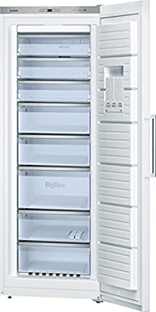 Bosch Serie 6 GSN58AW35 - Congelador (Vertical, 360 L, 22 kg/24h ...