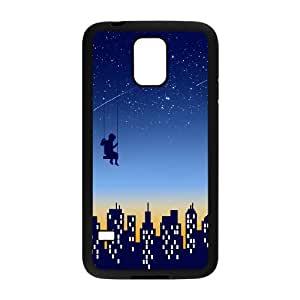 Samsung Galaxy S5 Cell Phone Case Black THE KID WHO DIDN'T WANT TO GO TO SLEEP FXS_598799