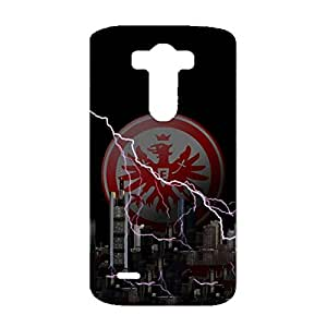 Eintracht Frankfurt Phone Case Stylish Design FC Team Logo 3D Hard Plastic Frankfurt logo Phone Case for LG G3