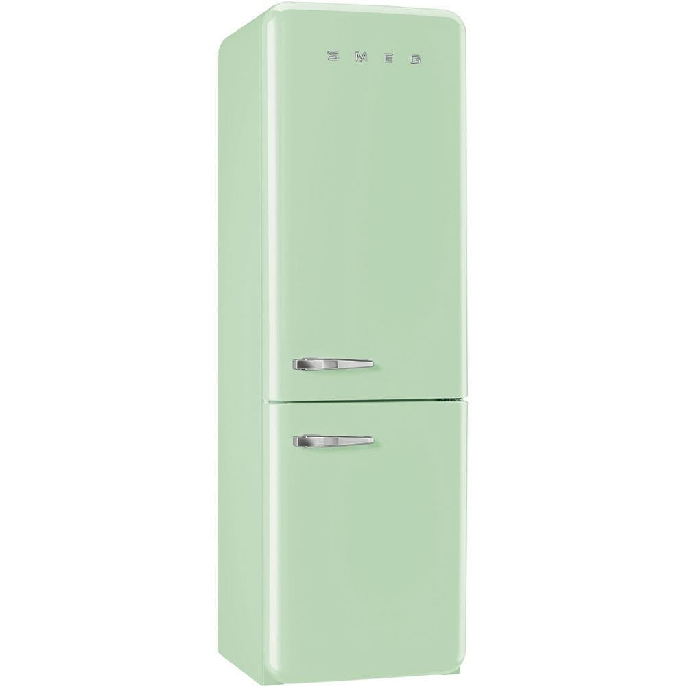 Smeg FAB32UPGLN 50s Style Bottom Freezer 11.7 Cubic Feet Pastel Green Right-hand Refrigerator