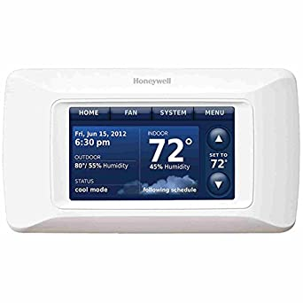 Honeywell thx9421r5013 prestige iaq 2 0 thermostat programmable household thermostats amazon for Th 450 termostato