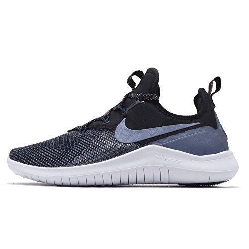 Nike Women's Free Tr 8 Metalic Cross Training Shoes (Black/Metallic Armory Navy, 8.5)