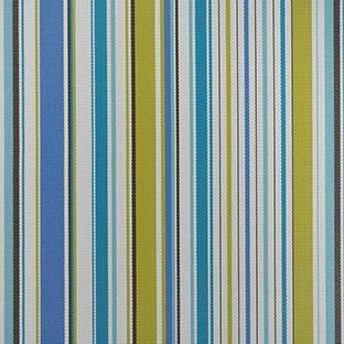 Phifertex Plus Stripe Coastline Peacock XUM Sling / Mesh Fabric