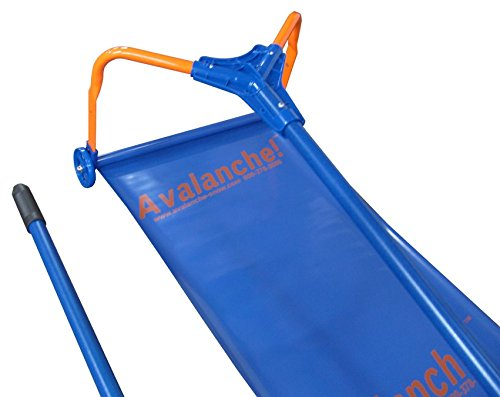 Avalanche - Original Roof Snow Removal System AVA500 with 17-Inch Wide Cutting Head and 16-Foot Quick Connect Handle