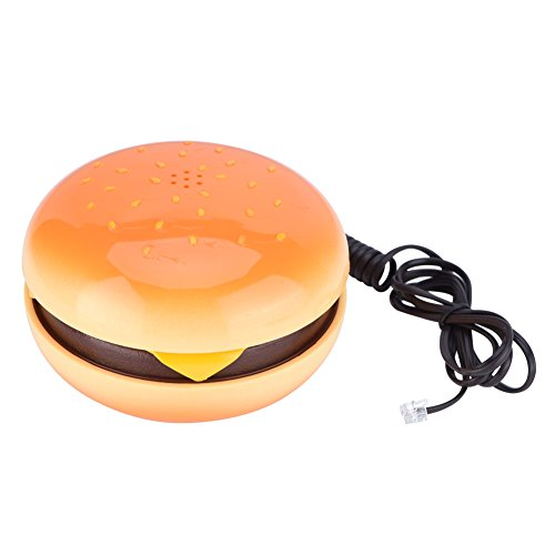 Burger Phone Cute Hamburger Telephone Wired Landline for sale  Delivered anywhere in Canada
