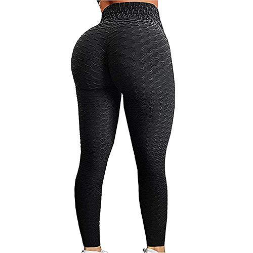 EXGOX Vrouwen Hoge Taille Yoga Broek Stretch Running Workout Yoga Leggings Tummy Control Sport Panty