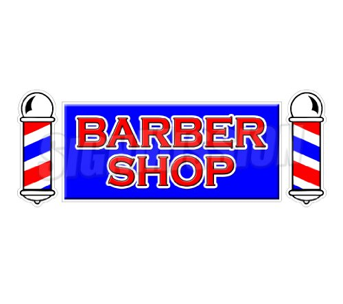 Decal- hair salon parlor sign signs ()