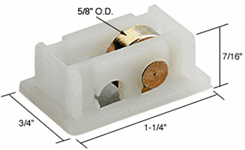 CRL Sliding Window Roller with 1/2