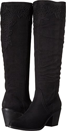 Not Rated Women's Maddie Riding Boot (Shaft Women Wedge Boots)