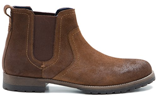 Red Tape Mens Clifton Waxy Wood Casual Shoe