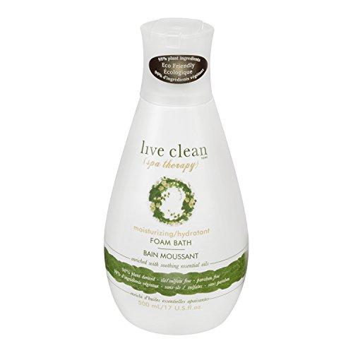 Live Clean Spa Therapy Moisturizing Foam Bath