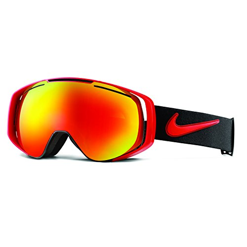 Red Ion Lens - Nike Khyber Goggles, University Red/Black Frame, Red + Yellow Red Ion Lens
