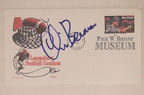 oomer' Autographed Bear Bryant Museum Envelope JSA 17E ()