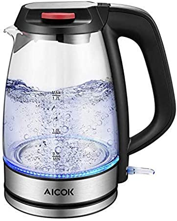 Aicok KE8026 Electric Glass Kettle