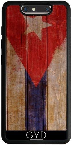 Funda Silicona para ZTE Blade V8 - Bandera Cubana by GiordanoAita