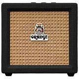 Orange Amplification Crush Mini 3-Watt Battery Powered Guitar Combo Amplifier (Black)