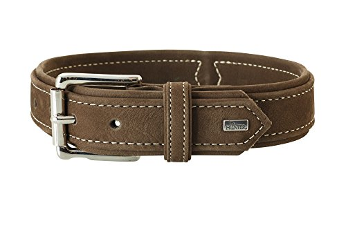 Collar Hunting Brown Leather, 14