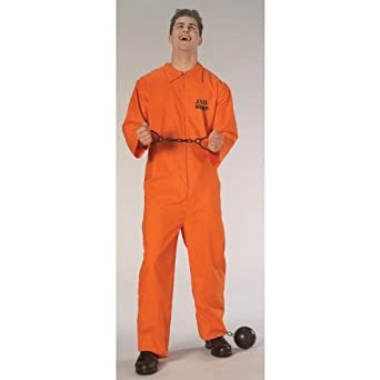 Amazon.com: Rubie's Costume Co Jail Bird Costume, X-Large: Toys ...