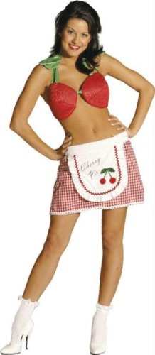 Adult Cherry Pie Costume - Womens -