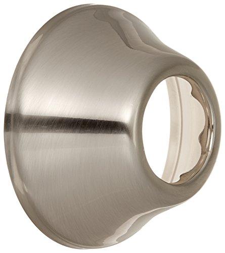 Jones Stephens E0812BN 1-1/4-Inch Tubular Escutcheon Brushed Nickel Bell Pattern by Jones Stephens Corporation