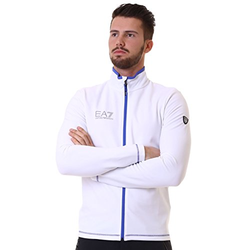 Armani EA7 Technical Down Fleece; color:Bianco; size:XL