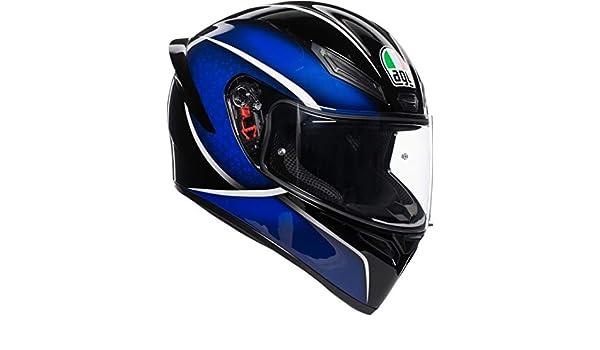 AGV K1 Qualify Azul Casco De Moto De Cara Completa Tamano ML