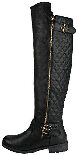 JJF Schuhe für immer Link Mango-21 Lady Boot Schwarz_41
