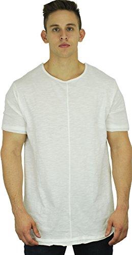Mens Elongated T Shirt Short Sleeve product image